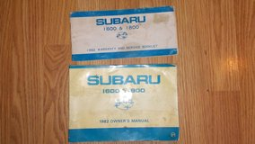 Subaru 1982 Owners Manuals in Alamogordo, New Mexico
