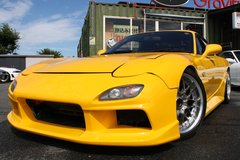 1993 MAZDA RX-7 (Yellow) - Inspection & Shipping Included in Yokota, Japan