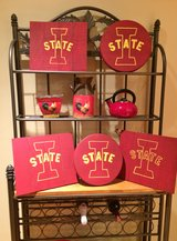 Iowa State Wood Plaques in Aurora, Illinois
