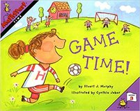 """NEW Level 3 Game Time """"Time"""" Book MathStart Book Age 7+ in Morris, Illinois"""