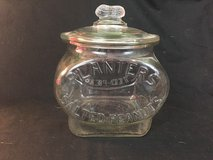 Vintage Planters Salted Peanuts Glass Oval Counter Display Jar - Rare Find in Cherry Point, North Carolina