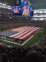 2017 Dallas Cowboys tickets - Section 319 row 12, Seats 9-12;  4 tickets Home side in Kingwood, Texas