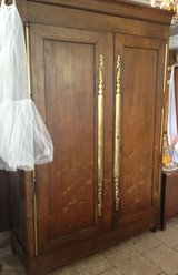 very rare wedding cabinet from Brittany in Ramstein, Germany
