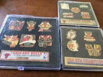Chicago bulls pin sets in Plainfield, Illinois