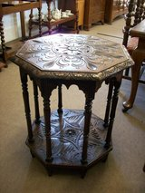 Victorian Carved Table in Lakenheath, UK