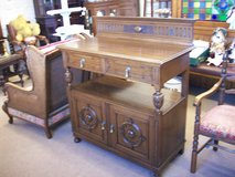 victorian oak buffet in Lakenheath, UK