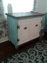 Chicly Restyled Coastal Washed Buffet Sideboard Console Media Entry in Wilmington, North Carolina
