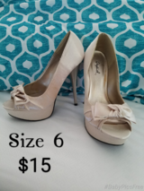 High Heels Size 6 in Fort Leonard Wood, Missouri