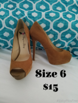 Heels Size 6 in Fort Leonard Wood, Missouri