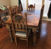 Texas Star Dining Table in Bellaire, Texas