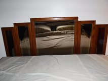 Queen Size Mirrored Headboard in Tinley Park, Illinois