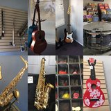 Music Store- The house of the Band in Fort Irwin, California