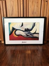 Framed Picasso Poster in Alamogordo, New Mexico