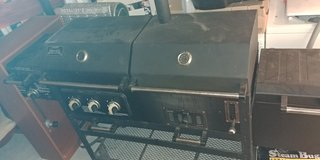 Dual Gas & Charcoal Grill in Fort Hood, Texas