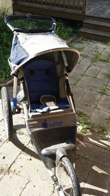 In Step Aluminum 20K Jogging Stroller Blue in Naperville, Illinois