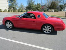 Fantastic Red 2002 Ford Thunderbird-VERY low miles-both tops-Fully loaded in Katy, Texas