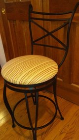 Set of 3 Wrought Iron Bar Stools/Chairs in Batavia, Illinois