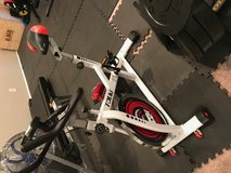 Stationary bike in Fort Carson, Colorado