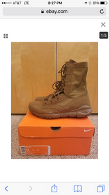 Nike boots coyote brown - men's size 4 in Fort Carson, Colorado