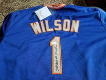 Mookie Wilson autographed jersey in Kissimmee, Florida