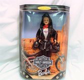 NIB 1998 HARLEY DAVIDSON Barbie Doll COLLECTOR EDITION 22256 Born to Ride Bike in Kingwood, Texas