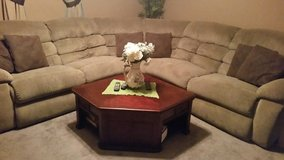 Sectional and center table in Yucca Valley, California