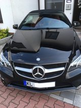 2014 Mercedes-Benz E350 Sport Convertible in Ramstein, Germany