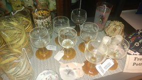 Wine glasses, Germany in Fort Campbell, Kentucky
