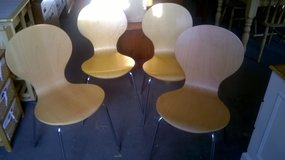 Dining chairs x 4 in Lakenheath, UK