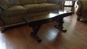 Antique solid walnut coffee table in Springfield, Missouri