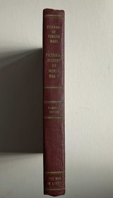 Pictorial History of WWII, The War in Europe Volume 1, 1951 book in Okinawa, Japan