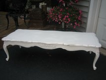 LOOOOOOONG french shabby chic coffee table in Plainfield, Illinois