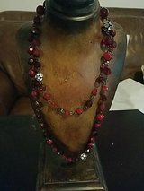 Red necklace in Hinesville, Georgia
