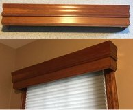 Custom Wood Valances in Yorkville, Illinois