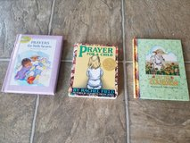Prayer books for little ones and she who loves to garden in Fort Polk, Louisiana
