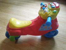 VTech 2-in-1 Learn & Zoom Motorbike in Yorkville, Illinois