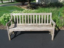 5 foot Outdoor Teak Bench-Smith & Hawken in Batavia, Illinois