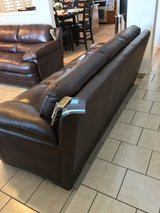 Real leather couches in El Paso, Texas