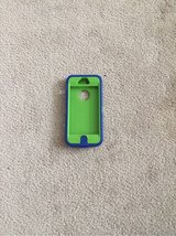 green and blue protective iPhone 5/5s case in Kingwood, Texas