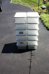 STERILITE 15 QUART CLEARVIEW CONTAINERS in St. Charles, Illinois