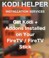 Kodi XBMC Install Service for FIRE TV AND FIRE STICK in Ramstein, Germany