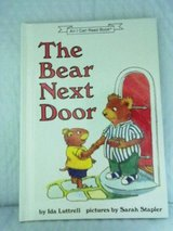The Bear Next Door Age 6 - 8 Children's Hard Cover Book 1991 in Yorkville, Illinois