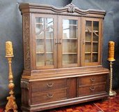 Antique China Cabinet or Bookcase in Ramstein, Germany