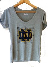 Under Armour grey scoop neck t-shirt in York, Pennsylvania