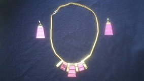 Necklace and earrings set in Vacaville, California
