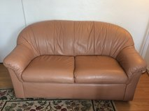 leather Loveseat with matching chair and ottoman in 29 Palms, California