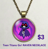 Teen Titans Go! Necklace RAVEN in Fort Benning, Georgia