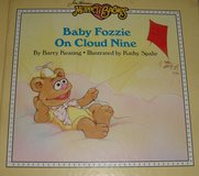 RARE Muppet Babies Baby Fozzie on Cloud Nine Hard Cover Book 1987 in Chicago, Illinois