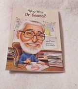 Who Was Dr. Seuss? Paperback Book Age 8 - 12 in Morris, Illinois