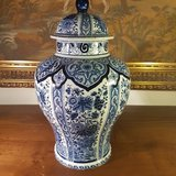 ANTIQUE VASE WITH HAND-PAINTED in Ansbach, Germany